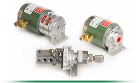 Three Pneumatic Valve Actuators