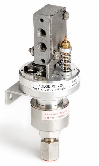 Pneumatic Valve Actuators   3-Way Valves   Pressure Actuator